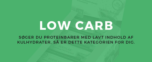 Proteinbar - low carb