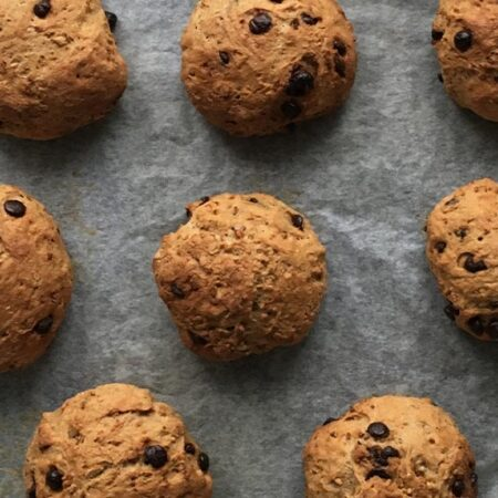 Proteinboller – Chocolate Chip Buns