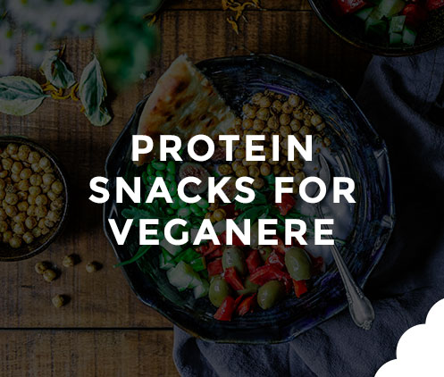 Protein Snacks for veganere